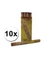 10 Confetti kanonnen 60 cm goud